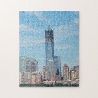 Nueva York, Nueva York. Horizonte de la ciudad de Puzzle
