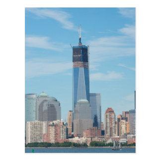 Nueva York, Nueva York. Horizonte de la ciudad de Postal