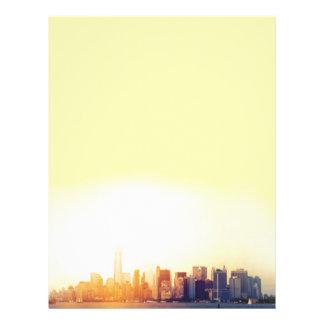 Nueva York Nueva York Membrete Personalizado