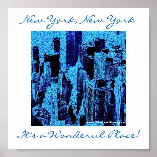 NUEVA YORK, NUEVA YORK POSTER