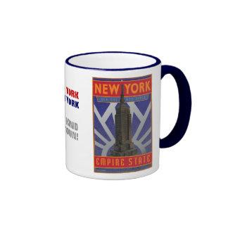 Nueva York, nueva York-Taza Taza De Dos Colores