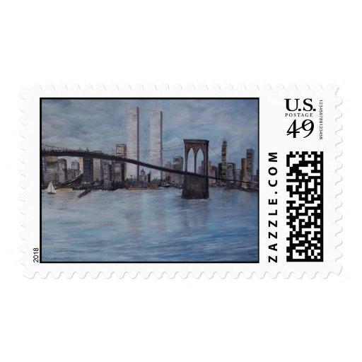 Nueva York nunca olvida 9-11-2001 Franqueo