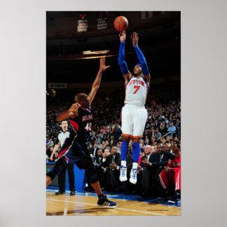 NUEVA YORK, NY - 22 DE FEBRERO:  Carmelo Anthony # Póster