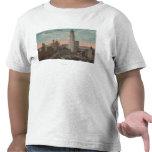 Nueva York, NY - edificio y ayuntamiento de Camisetas