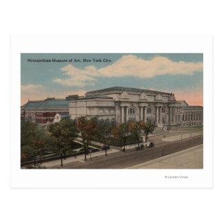 Nueva York, NY - museo de arte metropolitano Postales