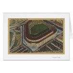 Nueva York, NY - Yankee Stadium del aire #1 Tarjeta De Felicitación