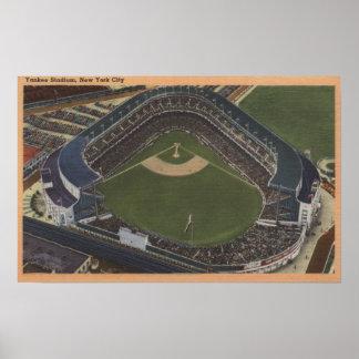 Nueva York, NY - Yankee Stadium del aire #2 Impresiones