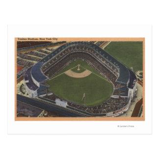 Nueva York, NY - Yankee Stadium del aire #2 Tarjeta Postal