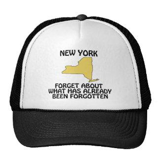Nueva York - olvide cuál ha estado ya Gorros