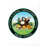 Nueva York orgánica Tarjetas Postales