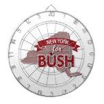 NUEVA YORK PARA BUSH - .PNG TABLA DARDOS