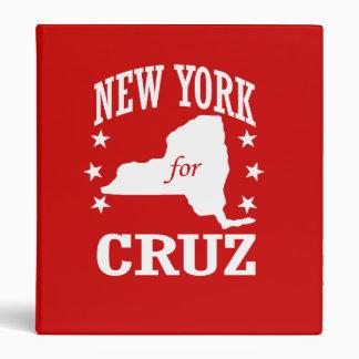 NUEVA YORK PARA CRUZ DE TED CARPETA 2,5 CM