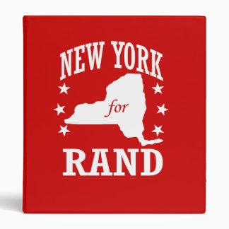 NUEVA YORK PARA EL RAND PAUL CARPETA 2,5 CM