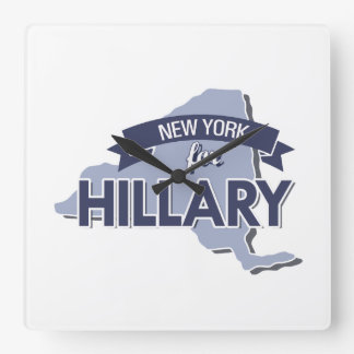 NUEVA YORK PARA HILLARY - .PNG RELOJES DE PARED