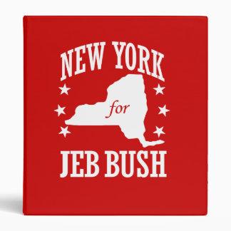 NUEVA YORK PARA JEB BUSH CARPETA 2,5 CM
