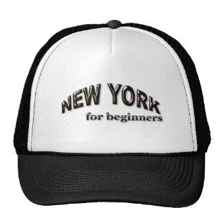 Nueva York para los principiantes Gorras De Camionero