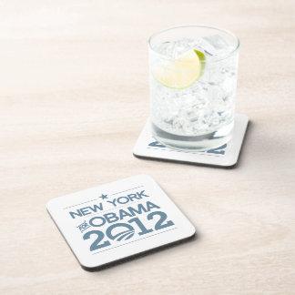 NUEVA YORK PARA OBAMA 2012.png Posavasos De Bebida