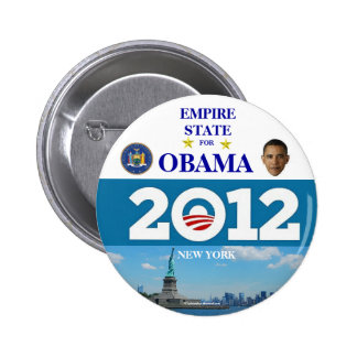 NUEVA YORK PARA OBAMA EN 2012 PIN