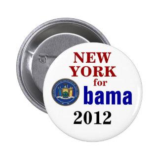 Nueva York para Obama Pin