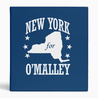 NUEVA YORK PARA O'MALLEY CARPETA 2,5 CM