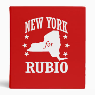 NUEVA YORK PARA RUBIO CARPETA 2,5 CM