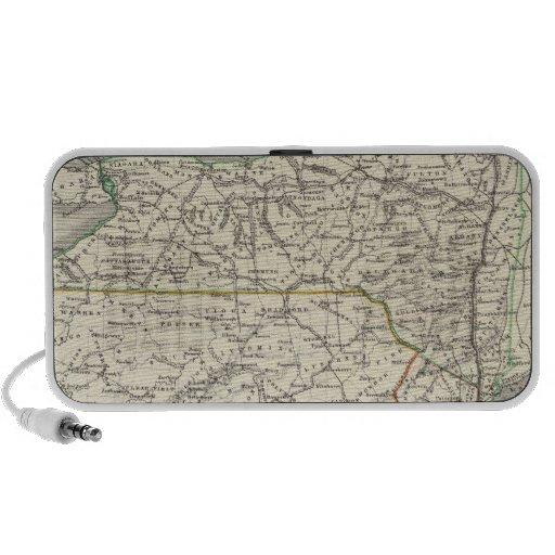 Nueva York, Pennyslvania, y New Jersey iPod Altavoz