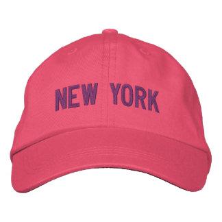 Nueva York personalizó el gorra ajustable Gorra De Béisbol