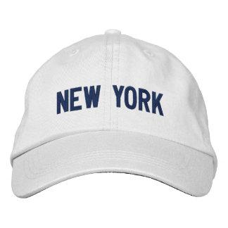 Nueva York personalizó el gorra ajustable Gorra De Beisbol Bordada