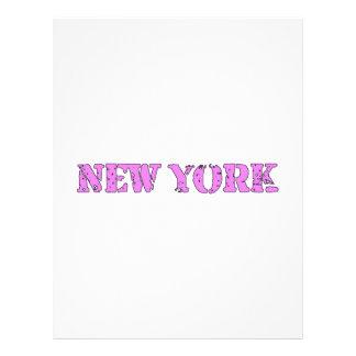 Nueva York Plantilla De Membrete