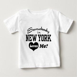 Nueva York Playera De Bebé