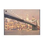 Nueva York - puente soñador de Bokeh Brooklyn iPad Mini Funda