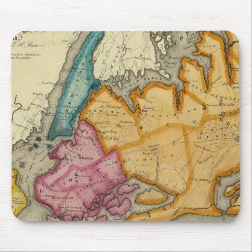 Nueva York, Queens, reyes, condados de Richmond Mousepad