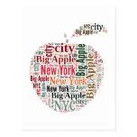 Nueva York redacta la nube Postales