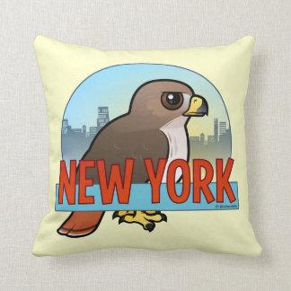 Nueva York Rojo-ató el halcón Cojines