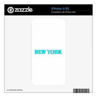 Nueva York Skins Para iPhone 4S