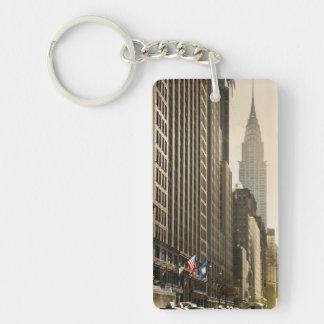Nueva York, St de E 42 y construcción de Chrysler Llavero