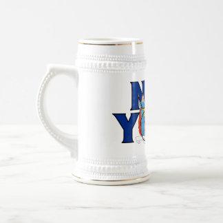 Nueva York Stein Tazas De Café