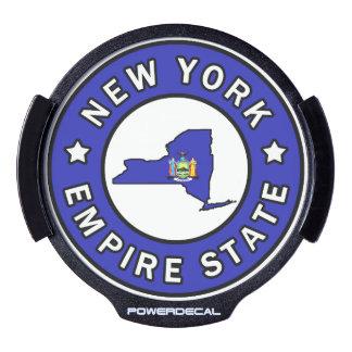 Nueva York Sticker LED Para Ventana