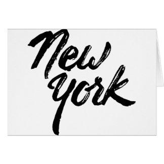 Nueva York Tarjeta De Felicitación