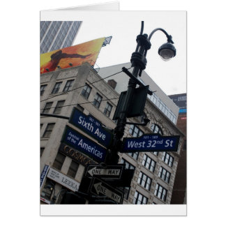 Nueva York Tarjeton
