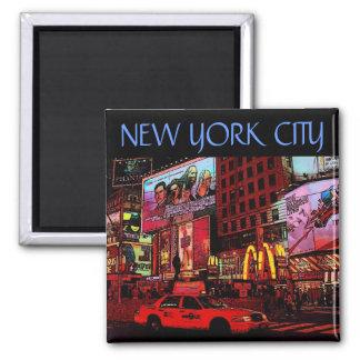 Nueva York tiempos Sq Imán