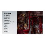 Nueva York - tienda - Greenwich Village - IL Cantu Tarjeta De Visita