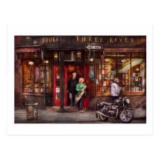 Nueva York - tienda - Greenwich Village - tres vid Tarjetas Postales