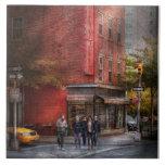 Nueva York - tienda - la charcutería vieja Azulejo