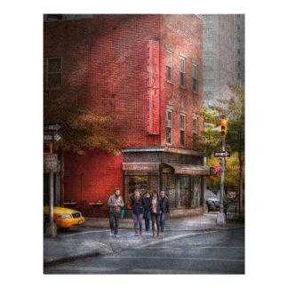Nueva York - tienda - la charcutería vieja Tarjetones