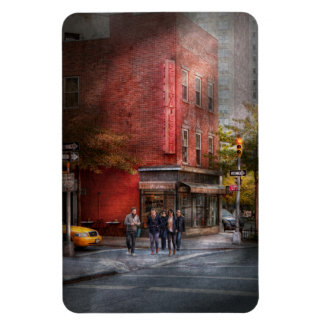 Nueva York - tienda - la charcutería vieja Imanes Flexibles