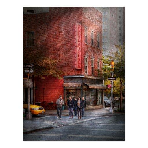 Nueva York - tienda - la charcutería vieja Postal