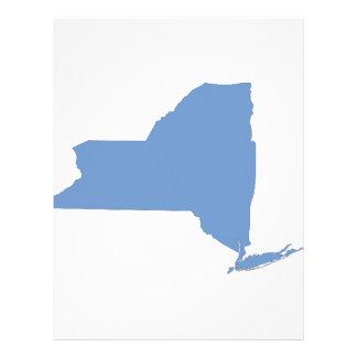 Nueva York: Un estado azul Membrete Personalizado