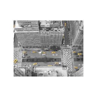 Nueva York YNC taxi cab 25.4cm x 20.32cm Impresiones De Lienzo
