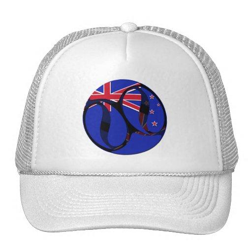 Nueva Zelanda #1 Gorras De Camionero